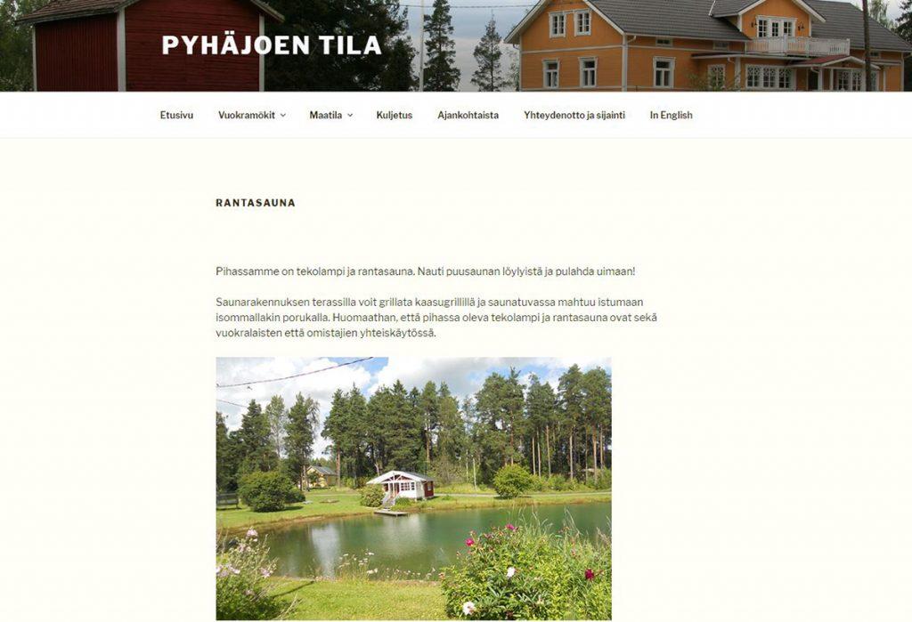 Pyhäjoen tila Perniö