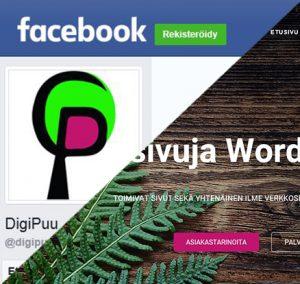 Facebook vai kotisivut